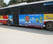 Dịch vụ cắt decal dán xe khách, xe hơi, xe tải, xe buýt