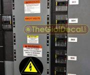 Cắt decal dán tủ điện, tủ điện thoại, cáp viễn thông