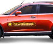 Dán decal nam châm dẻo xe ô tô du lịch, xe hơi và taxi