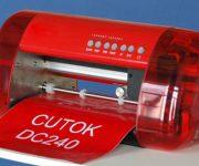 Máy Mini DC240 cắt Decal tem nhãn
